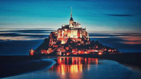 Private Tour Im Mont Saint Michel Im Minivan 4-7 Personen