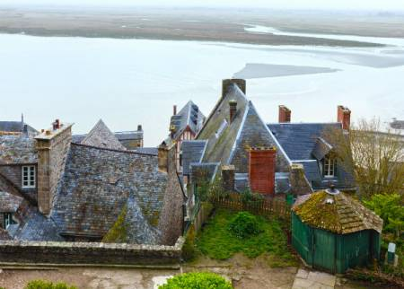 Private Tour In Mont Saint Michel In Minibus 8 Personen