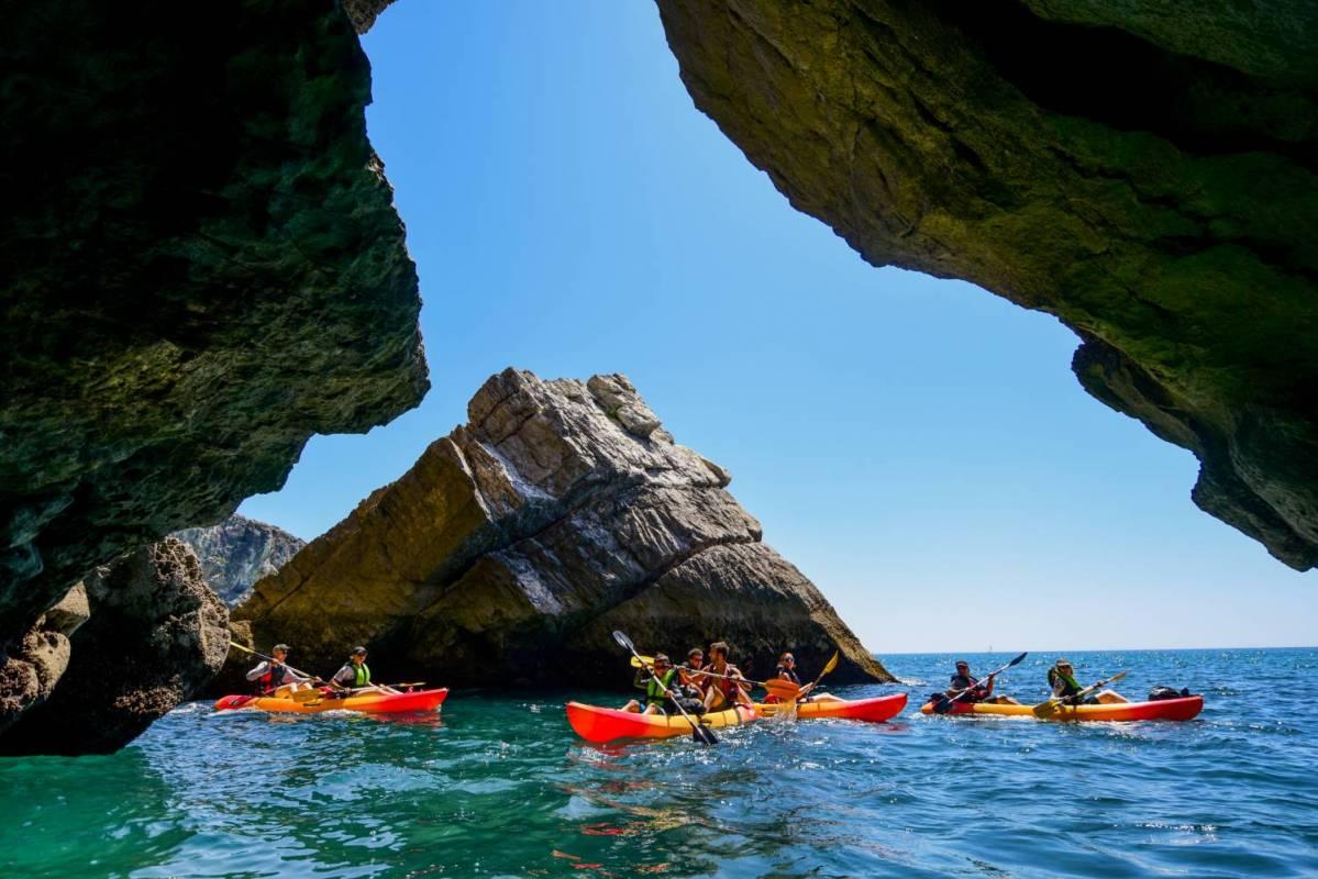 Arrábida Sea Kayak Tour