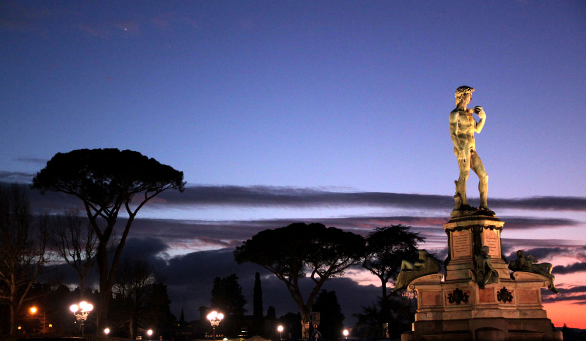Italian Florence: Florence In A Day: Florence Hills, Walking Tour, Accademia