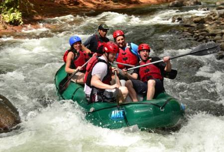 White Water Rafting At Tenorio River, Costa Rica