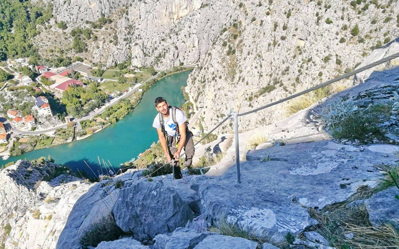 Via Ferrata Tour In Omiš, Croatia