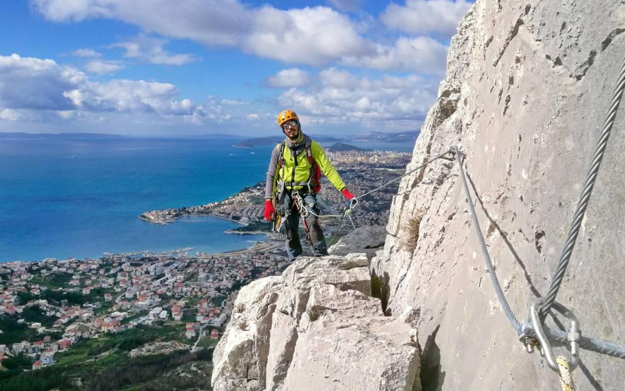 Via Ferrata Tour In Split, Croatia