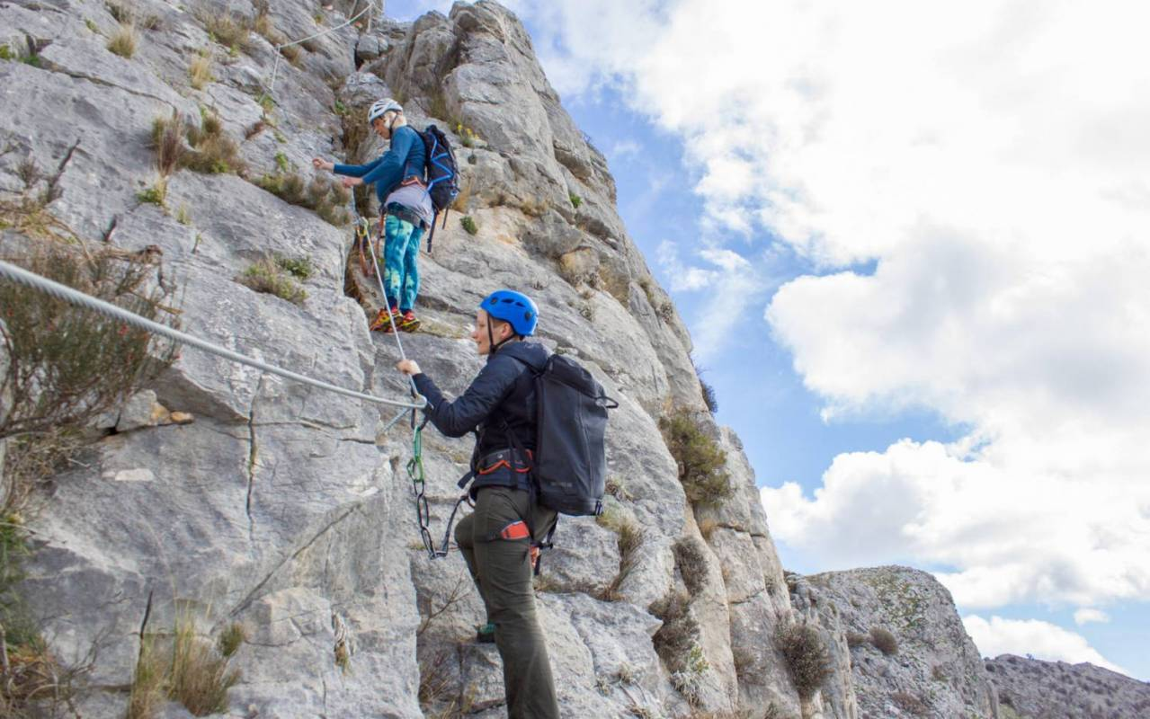 Klettersteig In English : Via ferrata tour in split kroatien experitour.com