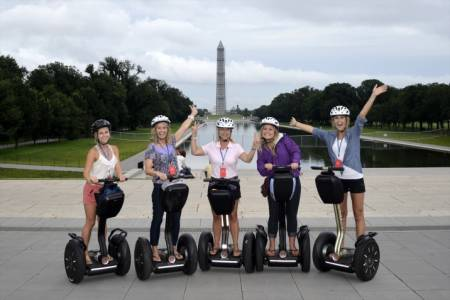 Washington Segway tour VIP