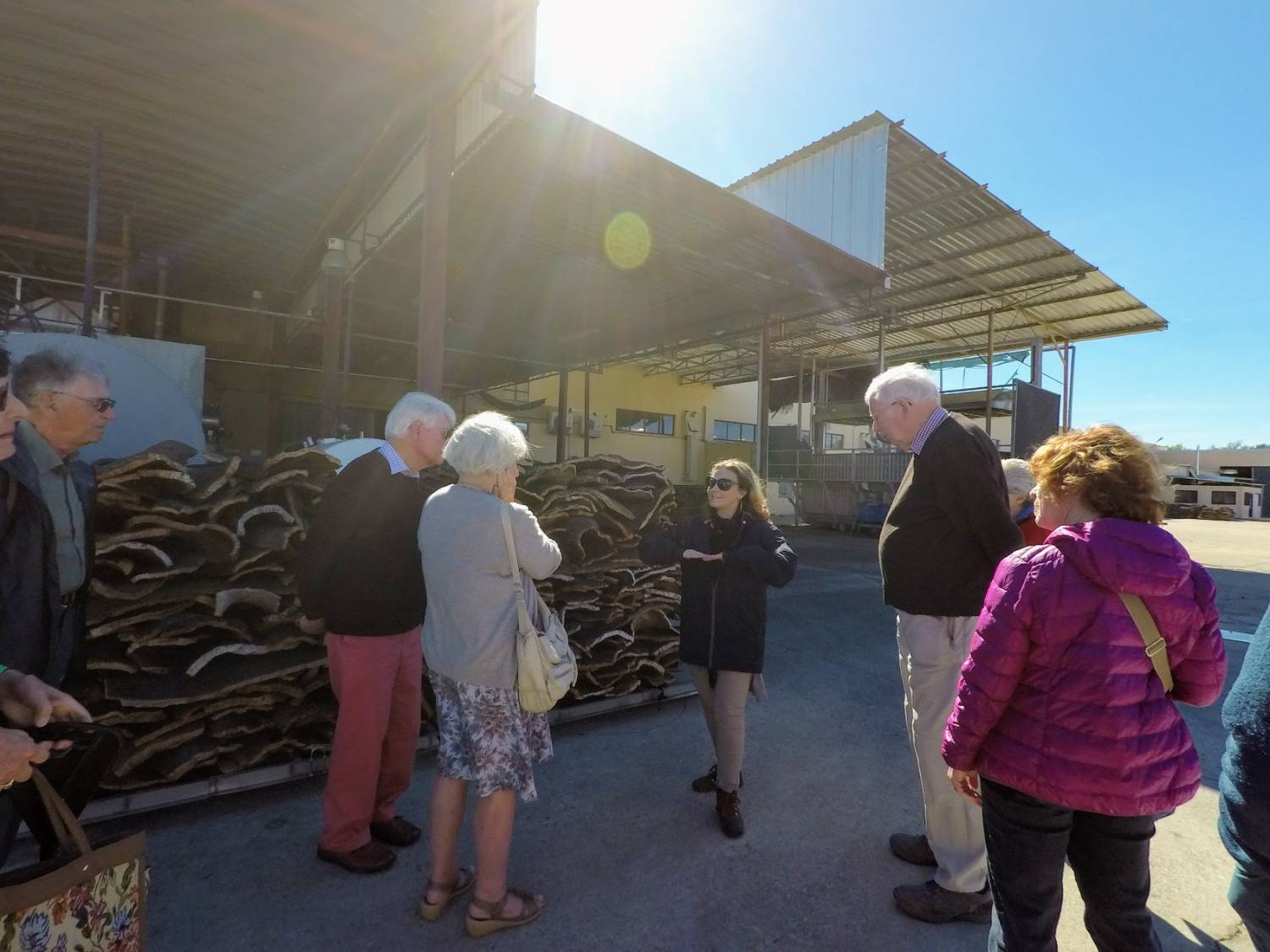 Cork Factory Tour, Algarve - Group