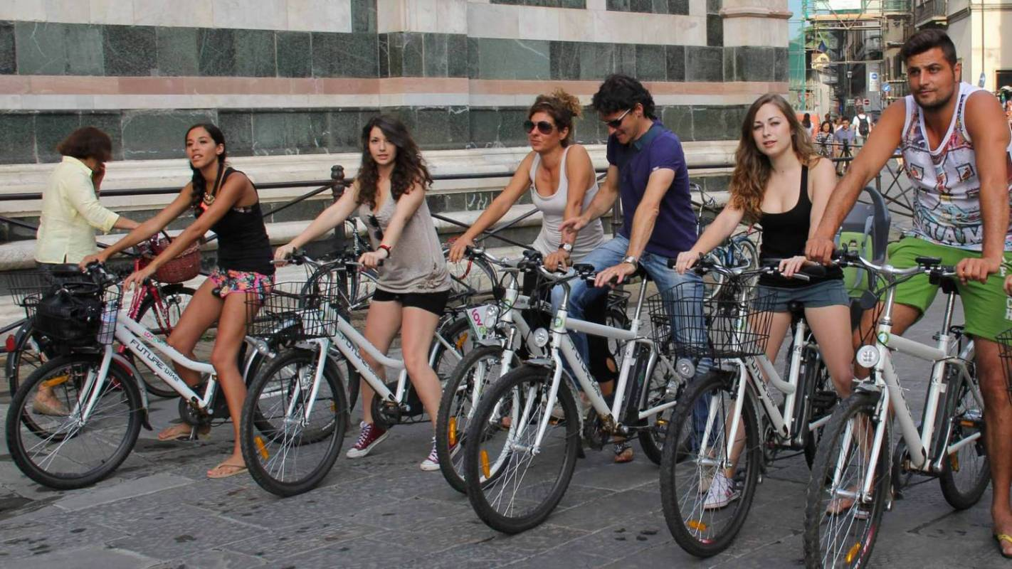 e-bike tour in Florence