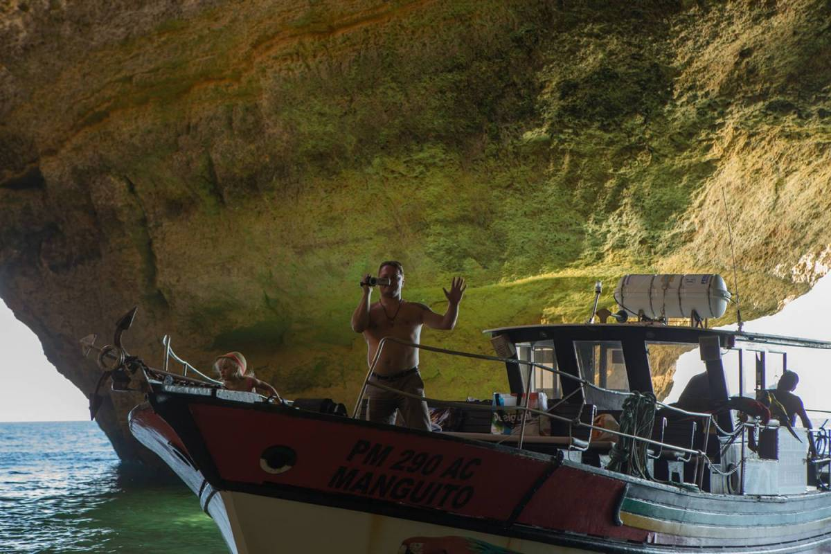Private Boat Tour From Portimão To The Benagil Caves