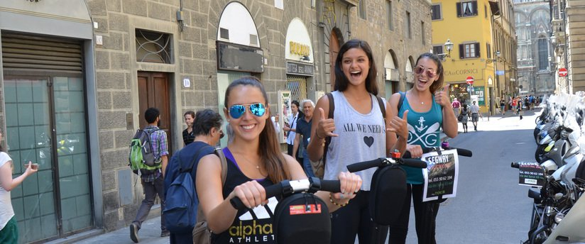 segway tour in Florence, Italy
