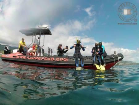 Excursion De Plongée En Apnée Sur L'Île De São Miguel Aux Açores