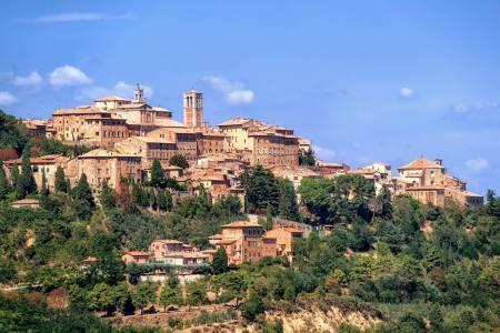 Von Siena: Tour Nach San Gimignano, Chianti & Montalcino Mit Mittagessen In Einem Weingut