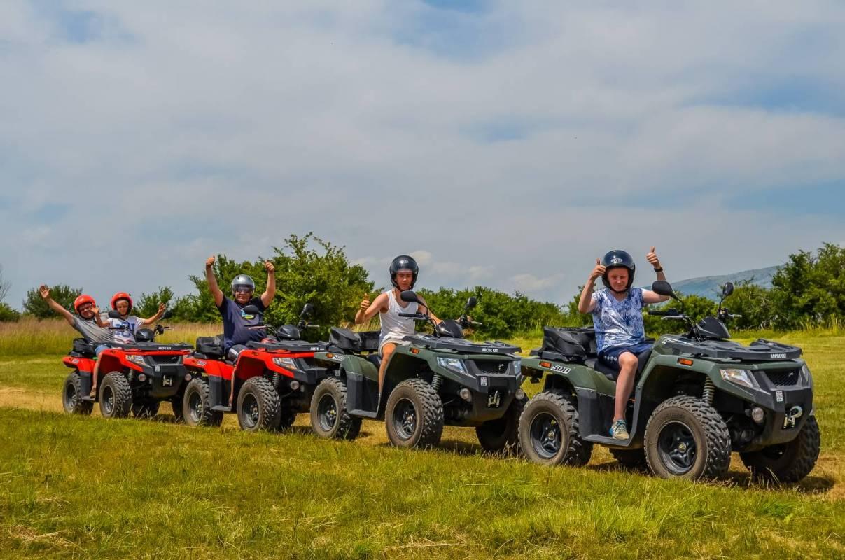 Atv Family Tour With Bbq From Split, Croatia