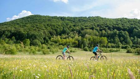 Cycling Plitvice Lakes Area, Croatia
