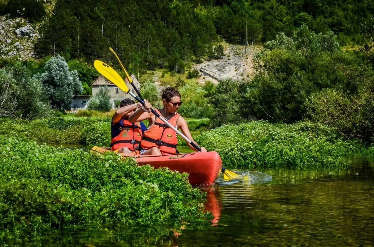 Cetina Kayak Tour With Bbq From Split