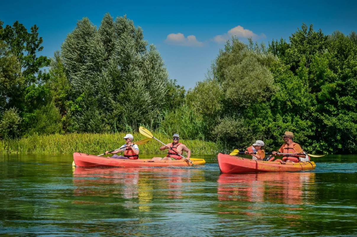 Cetina Kayak Tour With Bbq From Split