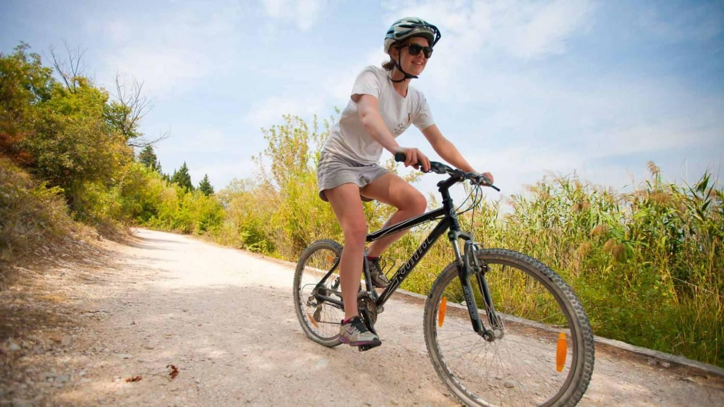 Cycling Krka River, Croatia