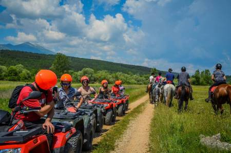 Atv Family Tour With Bbq From Split, Croatia