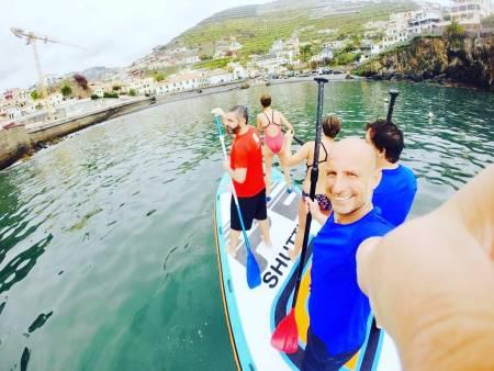 Passeio Em Grande Stand Up Paddle (Sup) Na Ilha Da Madeira – Suporta Até 8 Pessoas