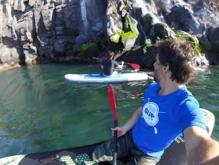 Stand Up Paddle Tour (Sup) On Madeira Island