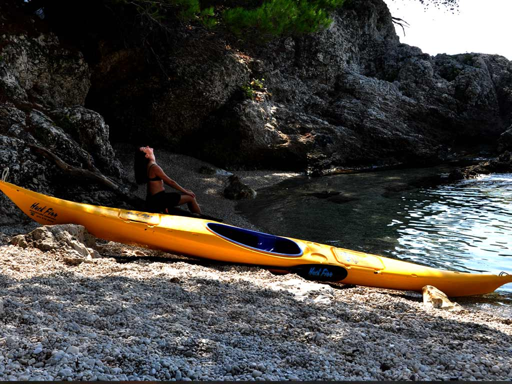 Sea Kayaking Koločep Island Day Trip