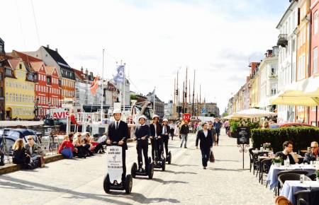 1 Hour Guided Segway Tour - Copenhagen
