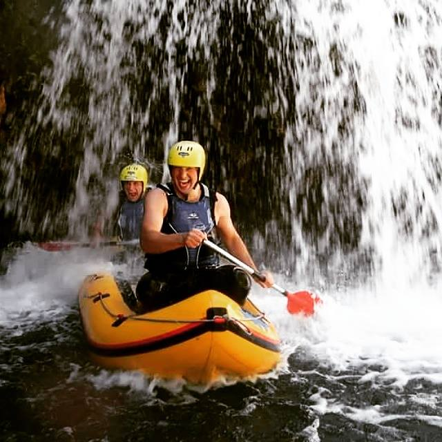 Kayaking Canyon Mreznica