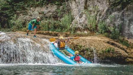 Kayaking Mreznica Canyon, Central Croatia