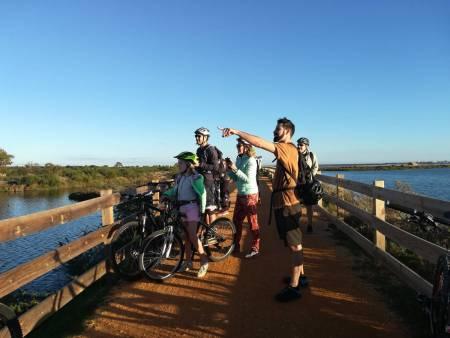Faro: Bike Tour In Ria Formosa To Faro Beach