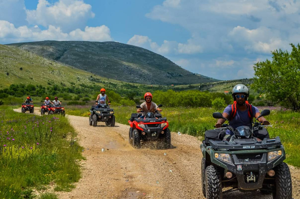 Atv Mountain Tour With Bbq From Split