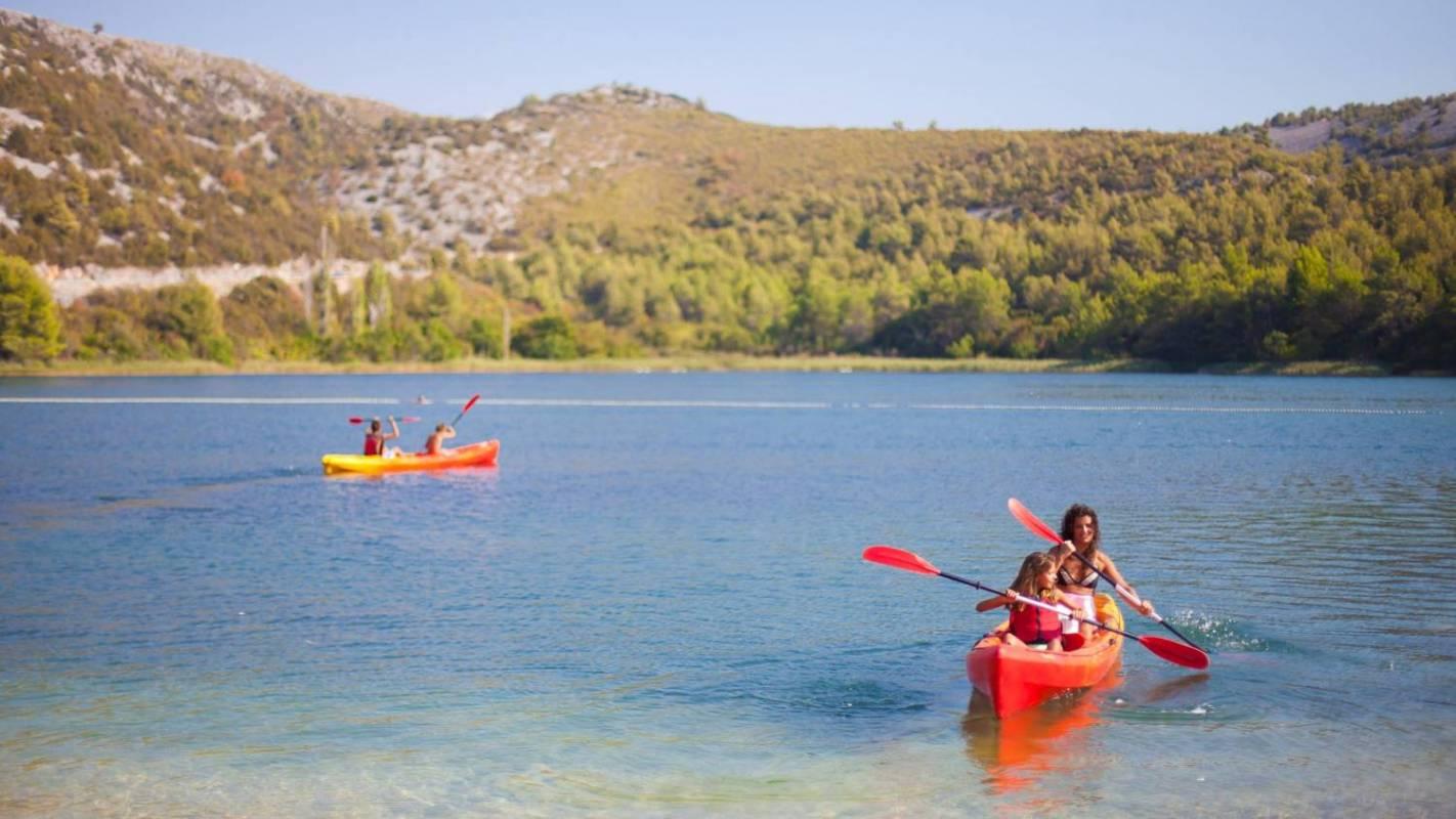 Skradin Bay Sea Kayaking