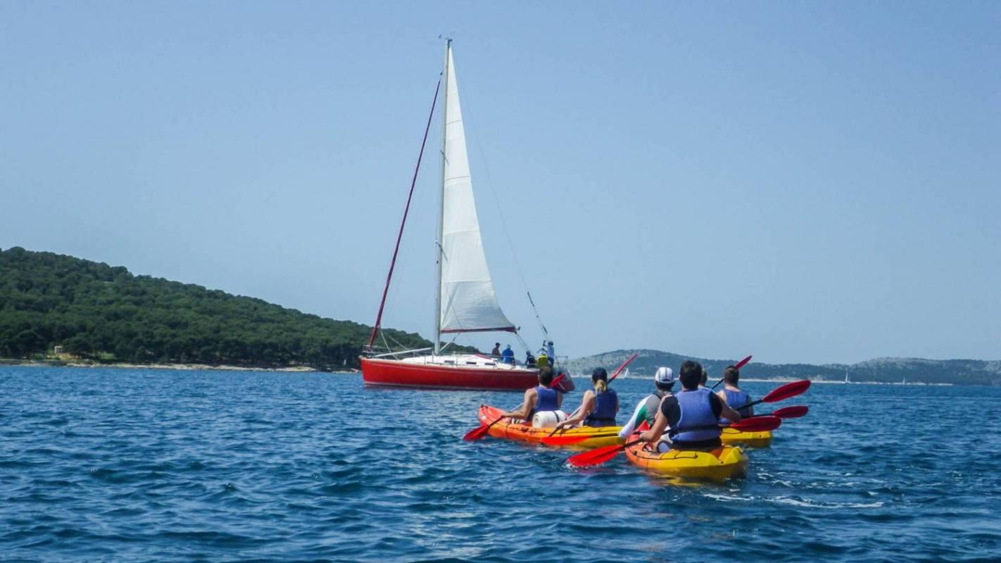 Zlarin Island Sea Kayaking, Croatia