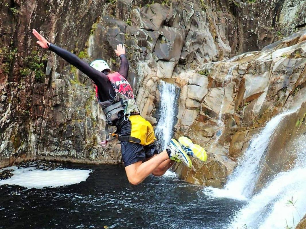 Behana Canyoning And Waterfalls Tour, Cairns, Australia