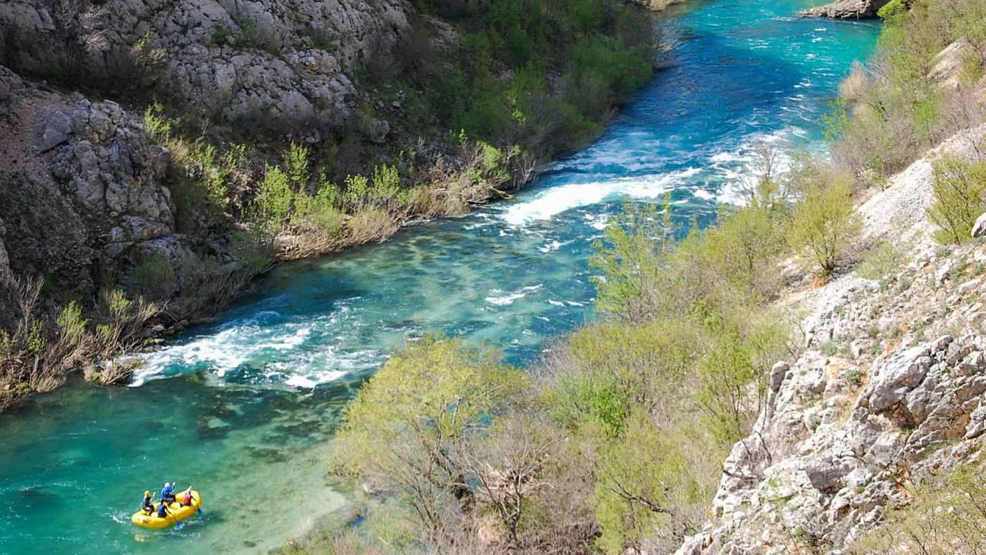 Zrmanja Canoe Safari, North Dalmatia, Kastel Zegarski, Croatia