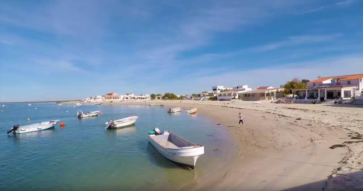 armona ria formosa praia