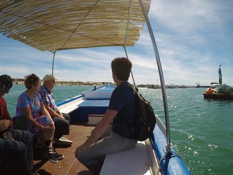 boat trip ria formosa culatra island