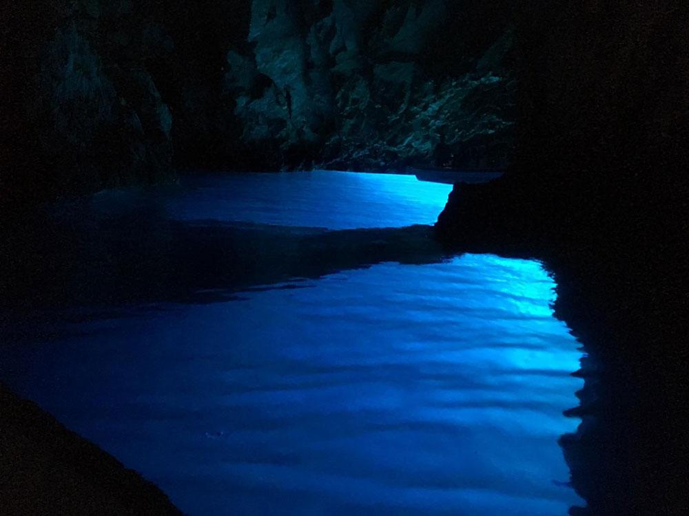 Blue Cave With Rib Boat Including Vis Island, Bisevo Island, Hvar Island And Pakleni Island