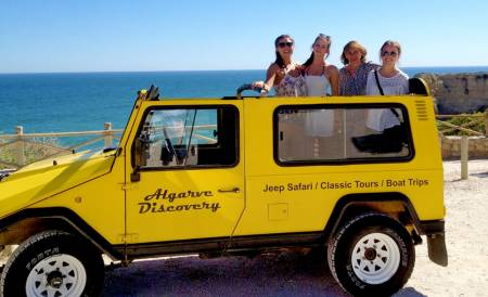 Algarve Jeep Tour on the coast