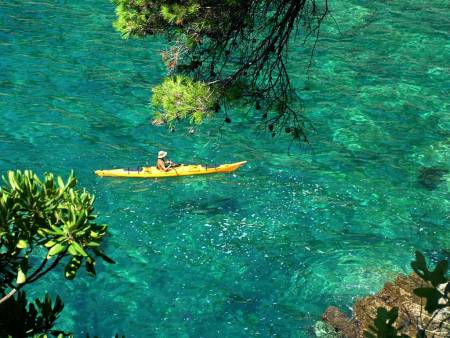From Dubrovnik: Half-Day Sea Kayaking Tour At Zaton Bay