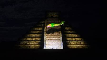 Chichen Itza & Night Of Kukulkan With Light And Sound