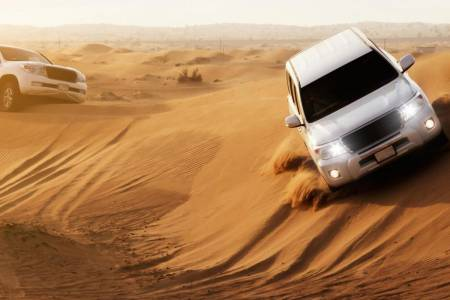4X4 Afternoon Desert Safari Dubai With Dinner