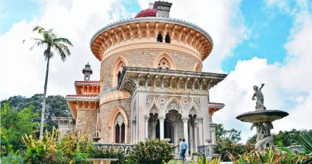 Full Day Tour To Sintra With Wine Tasting, Quinta Da Regaleira & Monserrate Palace