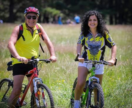 Ciclismo De Montanha Nas Montanhas Rhodope, Pirin E Rila