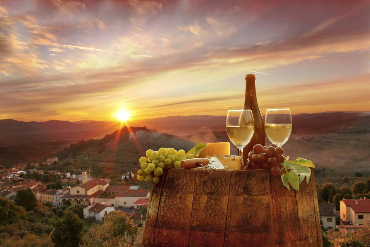 Chianti At Sunset With Dinner Experience From Siena