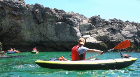 From Lisbon: Kayak Tour In The Beaches Of Arrábida With Picnic