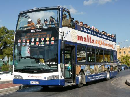 Hop-On Hop-Off Bus Tour In Malta – Maltasightseeing North Tour