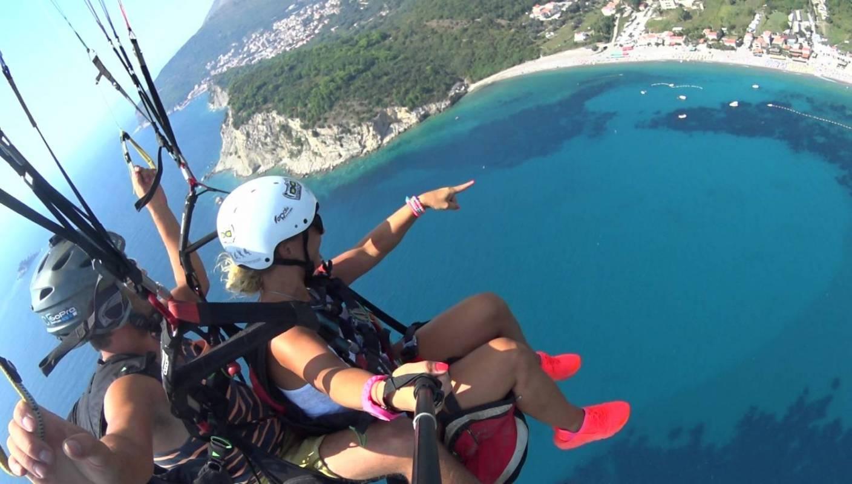 Eco Paragliding In Petrovac Montenegro