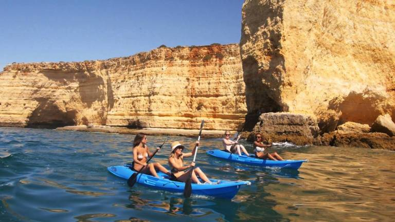 Kayak Tour In The Sea Caves Between Ferragudo And Carvoeiro