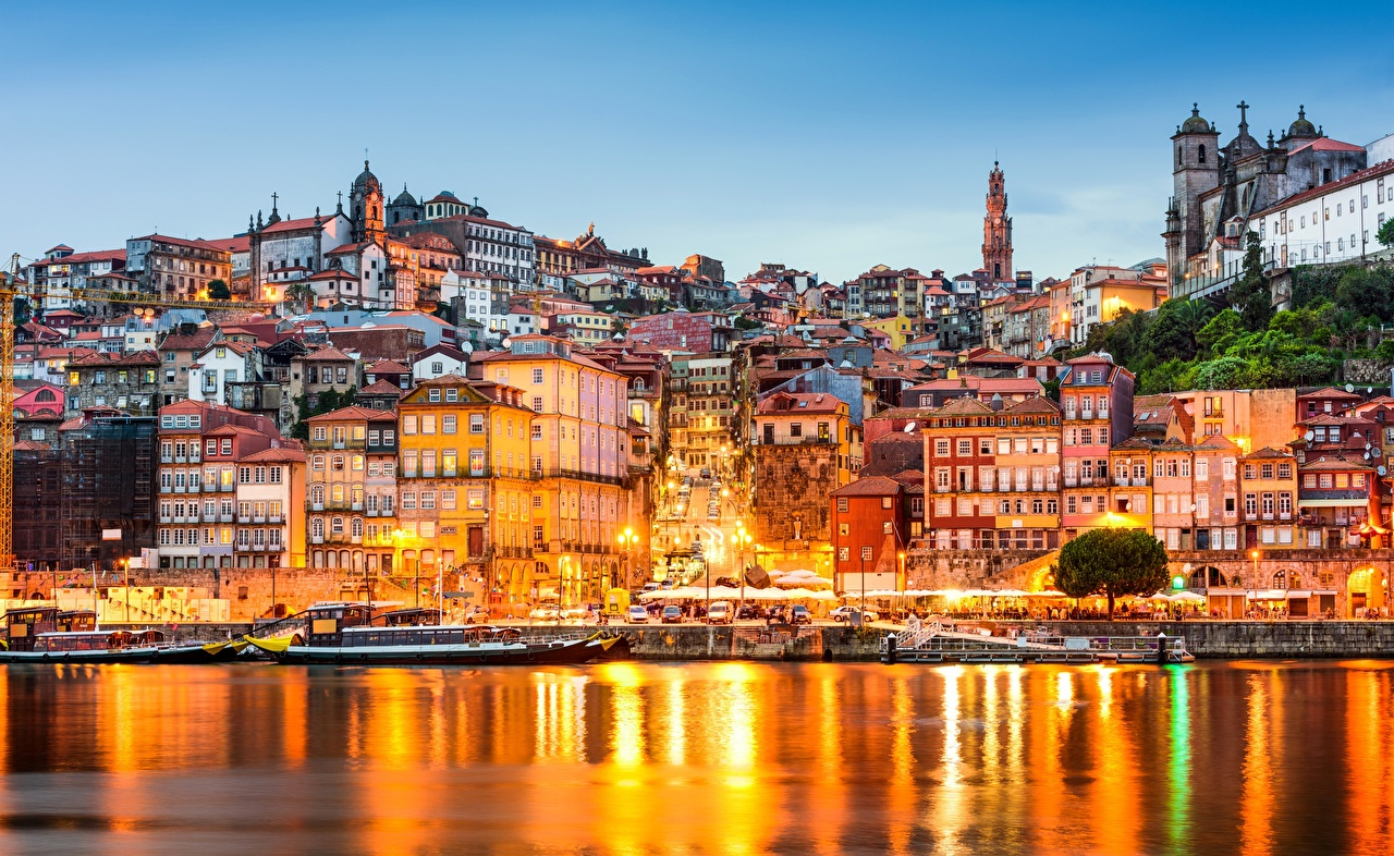 Porto's riverside area, one of the most enchanting landscapes in Europe.