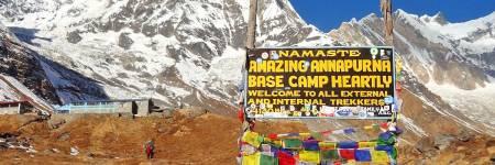 Excursão De Trekking De 14 Dias Ao Acampamento Base Do Annapurna