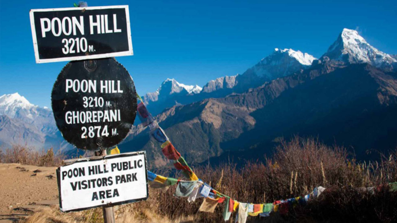Ghorepani Poon Hill Trek - 10 Days